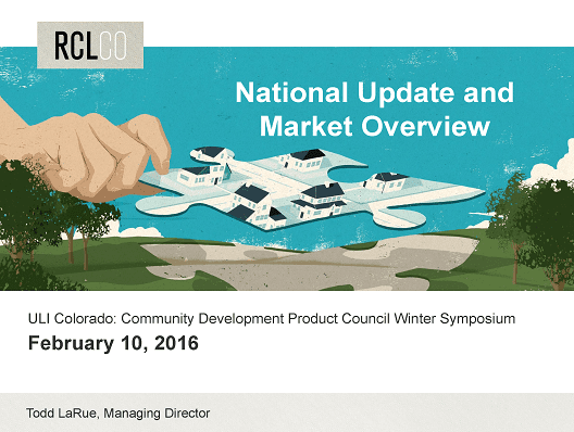 National Update and Market Overview